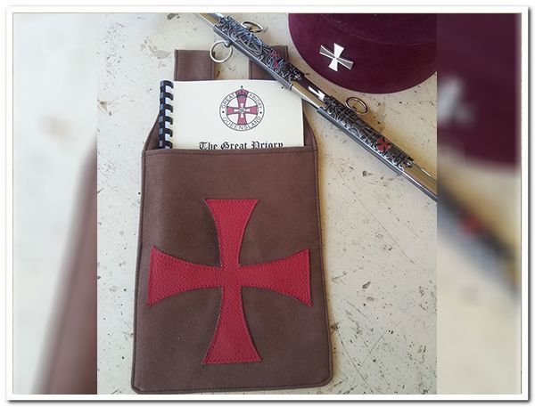 Knights Templar Ritual Pouches